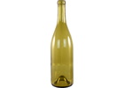 750 mL Dead Leaf Green Burgundy Wine Bottles - Case of 12