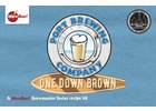 Pizza Port's One Down Brown Ale - Extract Beer Kit