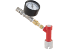 Pin Lock QD Adjustable Pressure Valve W/Gauge