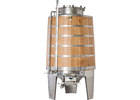 Speidel 3000L FD-MKEHTK Sealed Red Wine Fermenter w/ Oak Walls
