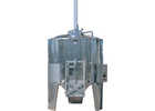 Speidel 7800L/2000 mm Diameter FD-MTAK Sealed Red Wine Fermentaion Tank w/ Must Plunging System, Standard Manway and Motorized Must Ejection