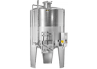 Speidel 6,800L/2000 mm Diameter FD-MUTK Sealed Red Wine Fermenter w/ Pumpover Assembly and Standard Manway
