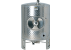 Speidel 2500L, 1400mm Diameter AS-MO Dish Bottom Sealed Stacking Tank