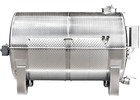 Speidel 10000L SG-MGRL Sealed Horizontal Must Reception and Storage Tank w/ Mixing Bars