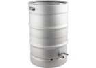 Stainless Steel Converted Keg Brewing Kettle (Keggle) - 15.3 gal.