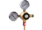 Dual Gauge Oxygen Regulator for Disposable Tanks