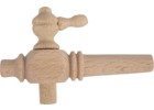 Wood Barrel Spigot - 10 cm (4 in Long)