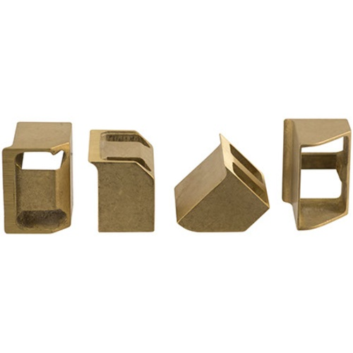 Replacement Brass Jaws for Ferrari Floor Corker (Set Of 4)