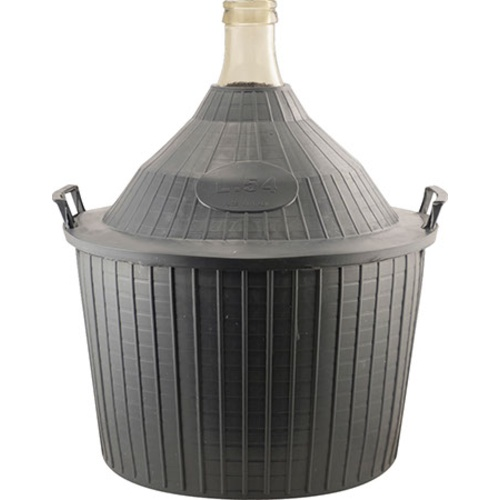 glass carboys for sale glass demijohn 14 g 54 l narrow mouth with plastic basket