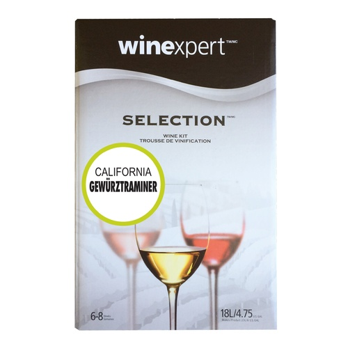 Winexpert Selection California Gewurztraminer Wine Recipe Kit