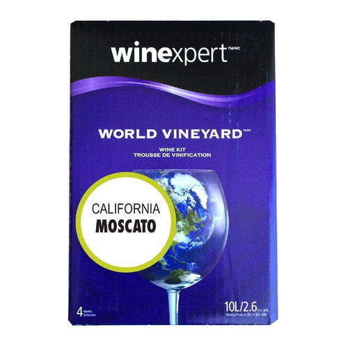 Winexpert World Vineyard California Moscato Wine Recipe Kit