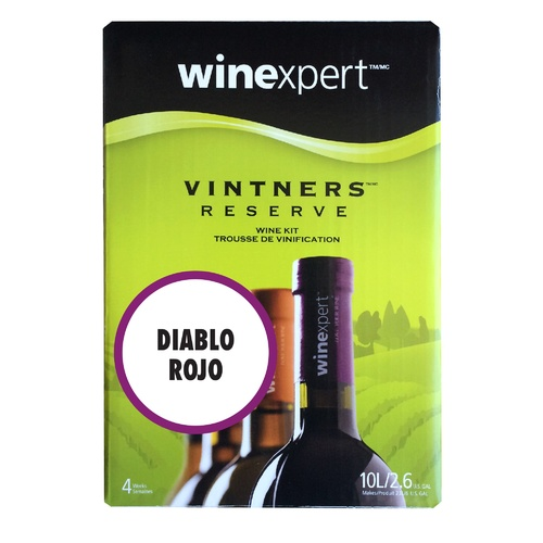 Winexpert Vintner's Reserve Diablo Rojo Wine Recipe Kit