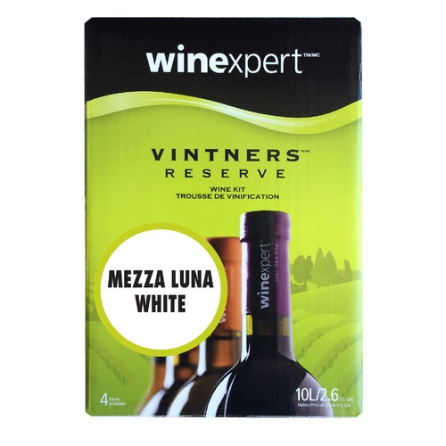 Winexpert Vintner's Reserve Mezza Luna White Wine Recipe Kit