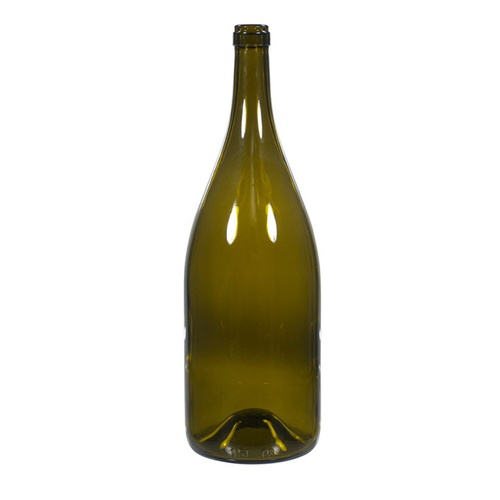 Wine Bottles (Antique Green) - 1.5L - Qty 6 - Pallet of 50 Cases