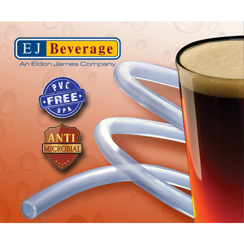 Ultra Barrier Silver™ Antimicrobial and PVC Free Beer Tubing - (1/4 in ID) - By the Foot