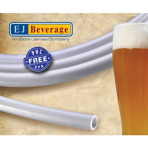 Ultra Barrier™ PVC Free Beer Tubing - (3/8 in ID) Roll of 100 ft