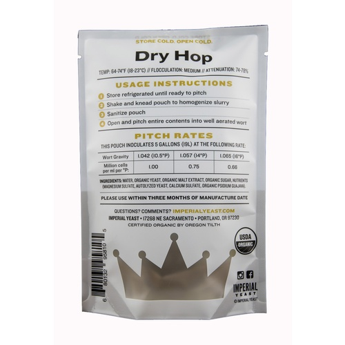 Imperial Organic Yeast - Dry Hop