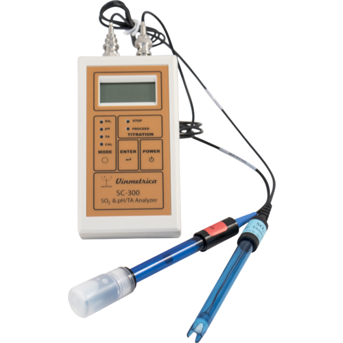 Vinmetrica SC-300 SO2, pH & TA Analyzer Pro Kit