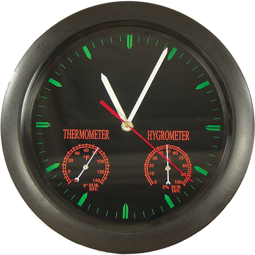 Combination Clock, Thermometer & Hygrometer - Wall Mount