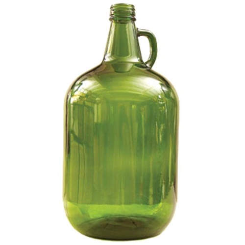 1 Gallon Glass Jug - Green