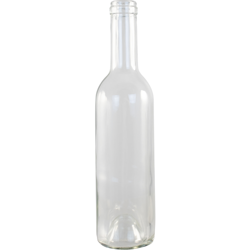 375 mL Clear Bordeaux Wine Bottles - Case of 12