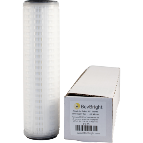 BevBright™ .45 Micron Absolute Sterile Beverage Filter