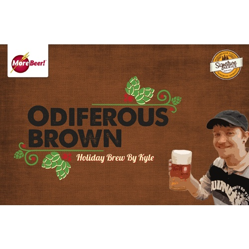 Kyle's Odiferous Brown Holiday Brew - Extract
