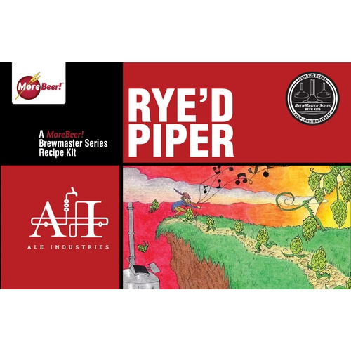 Ale Industries Rye'd Piper Ale - All Grain Beer Kit (Advanced)