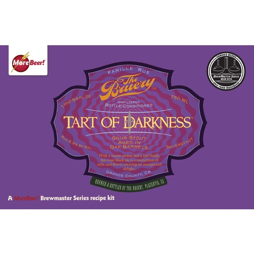 The Bruery's Tart of Darkness - All Grain Beer Kit (Advanced)
