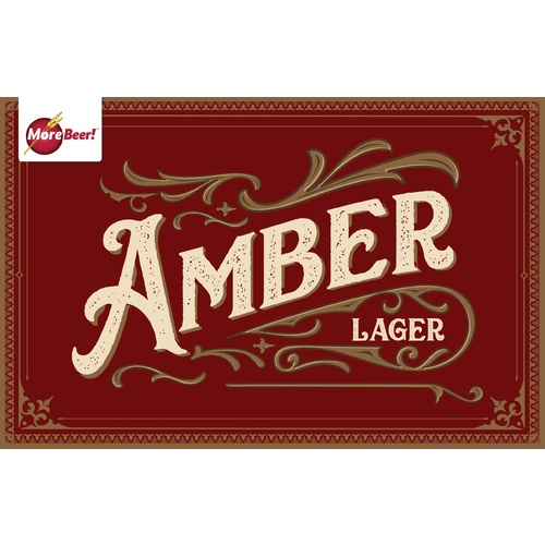 Amber Lager - Extract Beer Kit