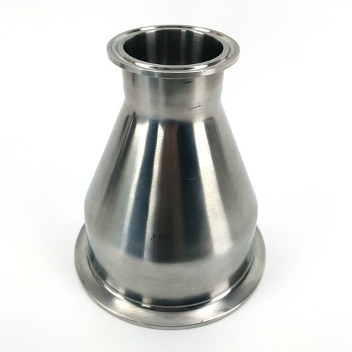Stainless - 4 in. T.C. x 2 in. T.C. Concentric Reducer