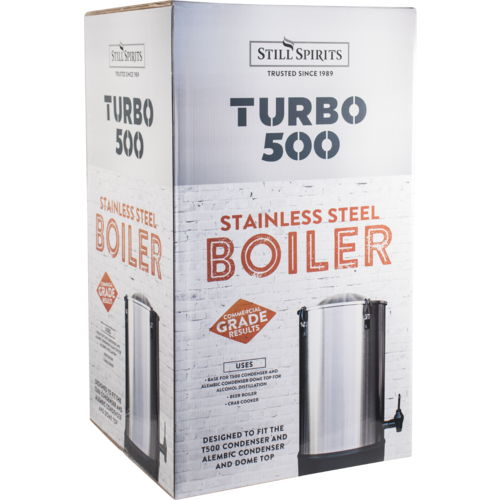 Turbo 500 Still Kit with Stainless Reflux Condenser