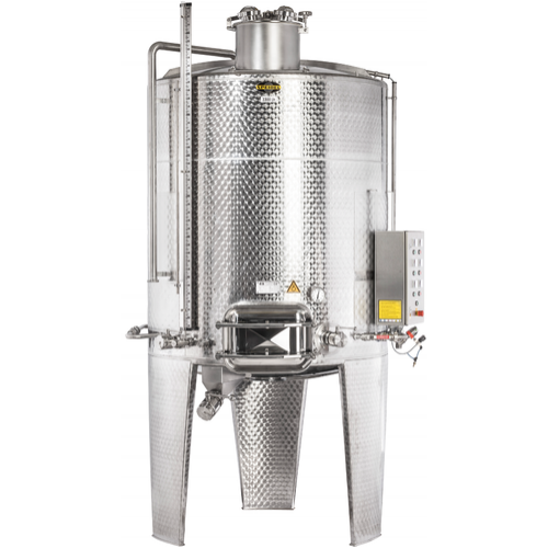 Speidel 6,800L/2000 mm Diameter FD-DFTK Sealed Red Wine Fermenter w/ Pulse-Air System and Standard Manway