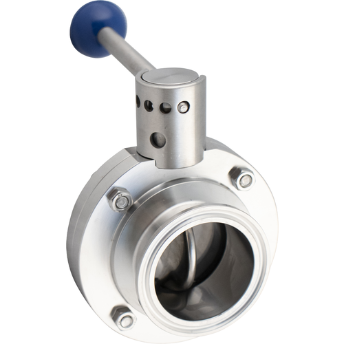 MoreBeer! Pro Tank Replacement Butterfly Valve - 2 in. T.C.