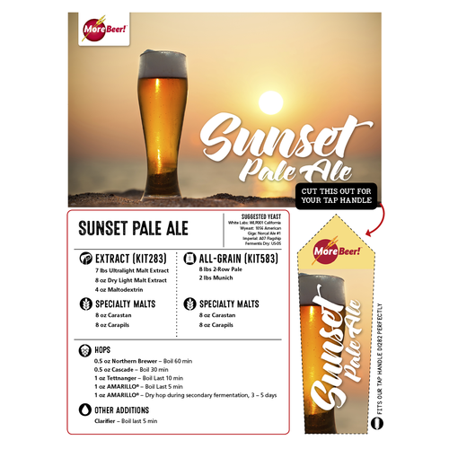 Sunset Pale Ale - All Grain Beer Kit