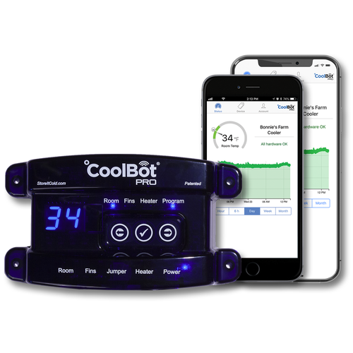 CoolBot Pro - WiFi Enabled Walk-In Cooler Controller