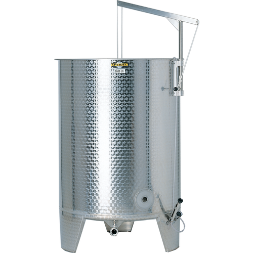 Speidel 12200L, 2000mm Diameter FO Dish Bottom Variable Volume Tank w/ Lid