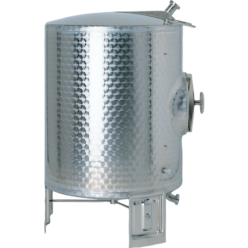 Speidel 3000L, 2000mm Diameter AS-MO Dish Bottom Sealed Stacking Tank