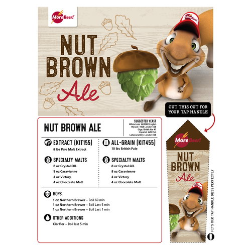 Nut Brown Ale - Extract Beer Kit