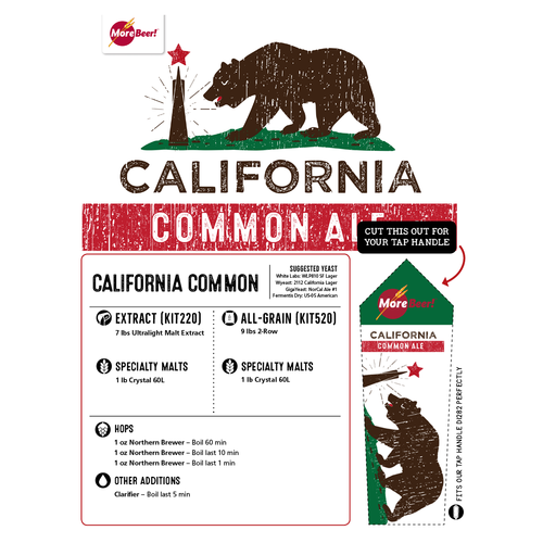 California Common Ale - All Grain Beer Kit (Advanced)