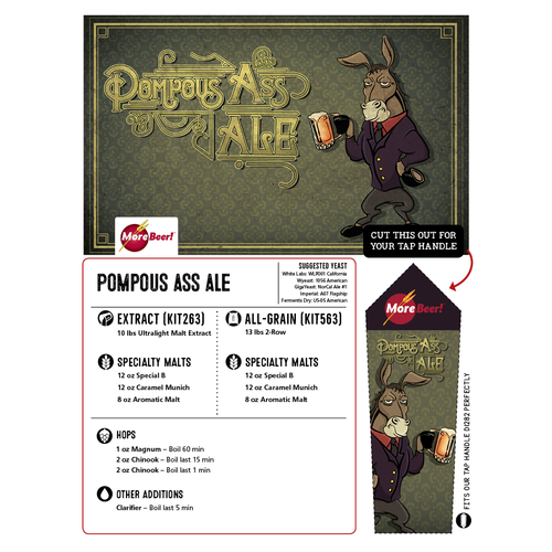 Pompous Ass Ale - All Grain Beer Kit (Advanced)