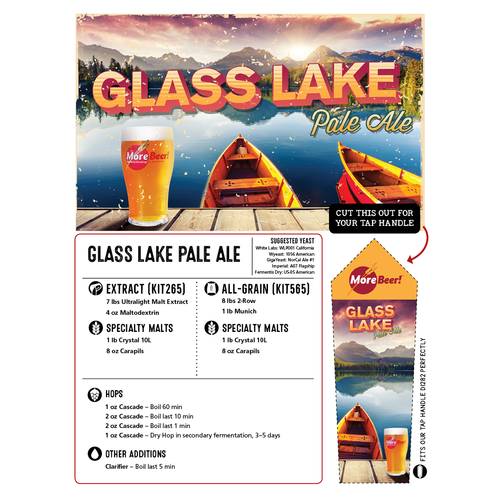 Glass Lake Pale Ale - All Grain Beer Kit