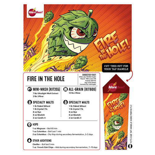 Fire In The Hole - All Grain Beer Kit (Advanced)