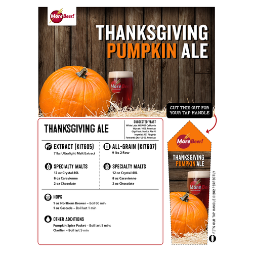 Thanksgiving Pumpkin Ale - Extract Beer Kit