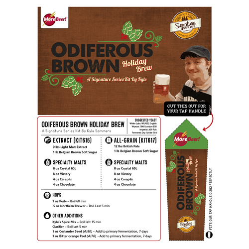 Kyle's Odiferous Brown Holiday Brew - All Grain