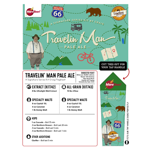 Craig's Travelin' Man Ale - Extract Beer Kit