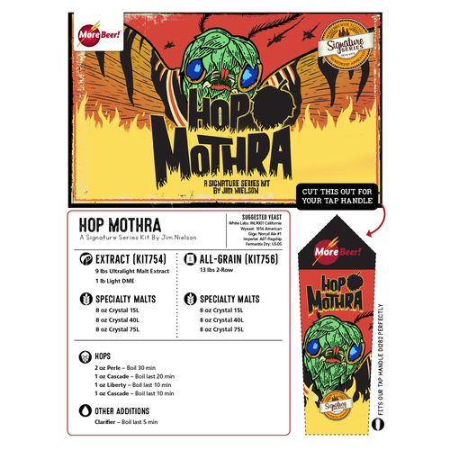 Jim Nielsen's Hop Mothra IPA - Extract Beer Kit