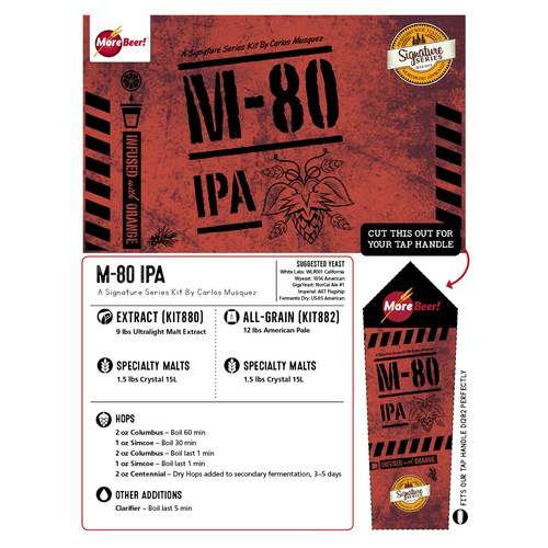 M-80 IPA - All Grain Beer Kit