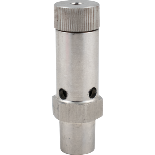 Adjustable Stainless Gas Pressure Relief - Weld Only