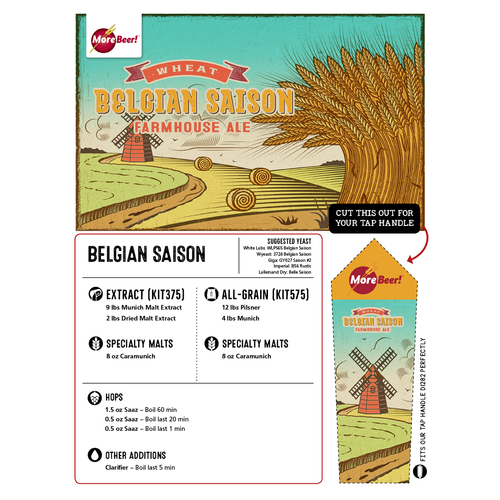 Belgian Saison - Extract Beer Kit
